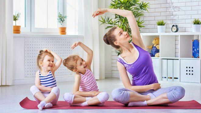 Хатха-йога для детей